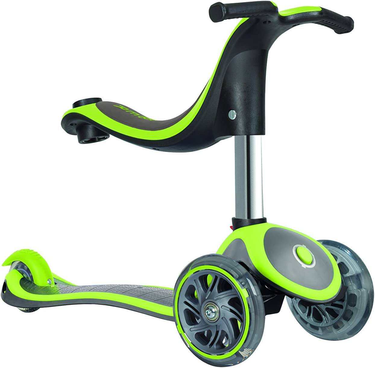 Globber Evo 4-in-1 Plus with Light Up Wheels Monopattino Bambino