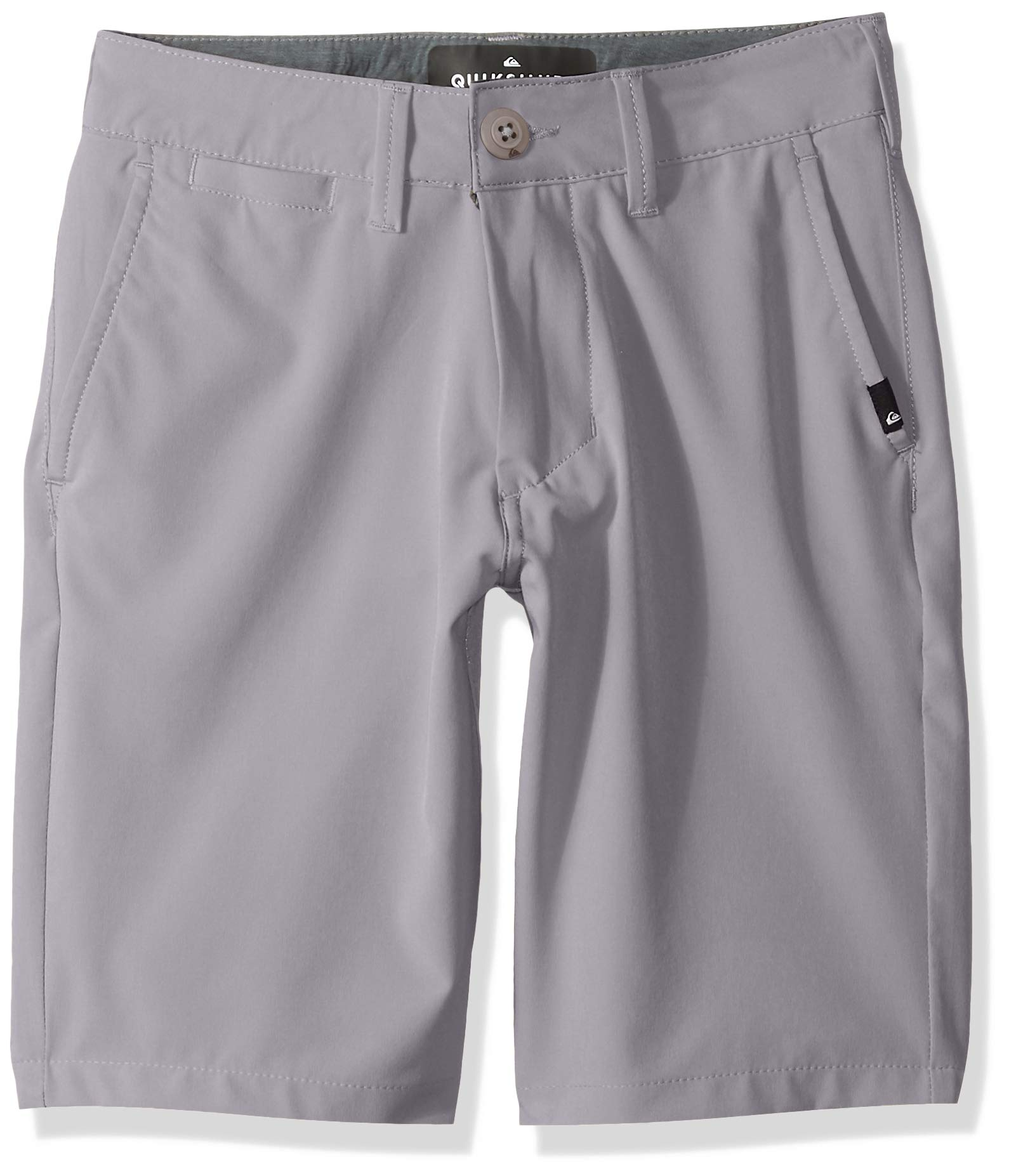 Quiksilver Boys' Big Union Amphibian Youth 19 Hybrid Short, Sleet, 23/10S