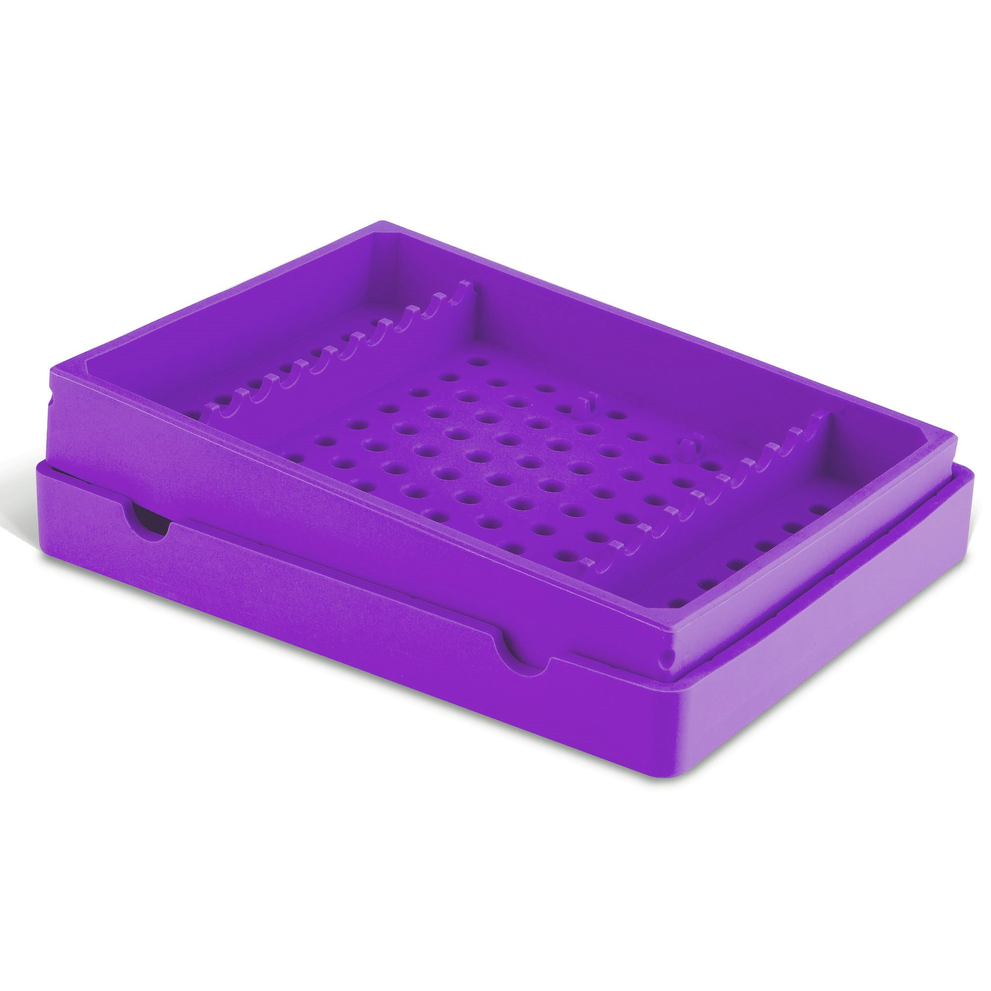 Practicon 7039771 PUR Cool Cassette 10 Instrument Container, Purple