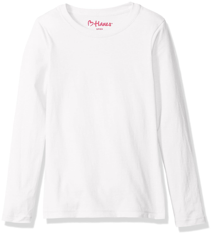 Amazon.com: Hanes Big Girls' ComfortSoft Long Sleeve Tee: Clothing
