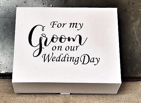 Groom Box Groom Gift Box Husband To Be Gift For My Groom Gift