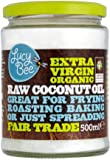 Lucy Bee Extra Virgin Organic Coconut Oil 500ml (Pack of 2)