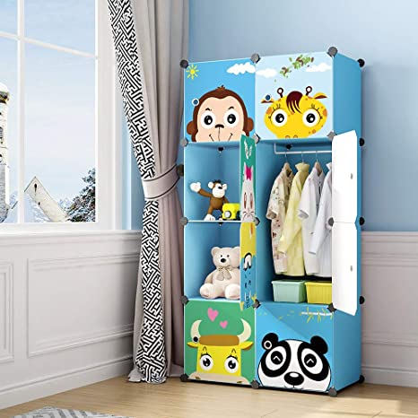 Amazon.com: MAGINELS Children Wardrobe Kid Dresser Cute Baby ...