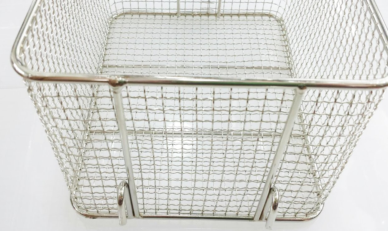 7.25'' L x 9.5''W S/S Fryer Basket Replacement