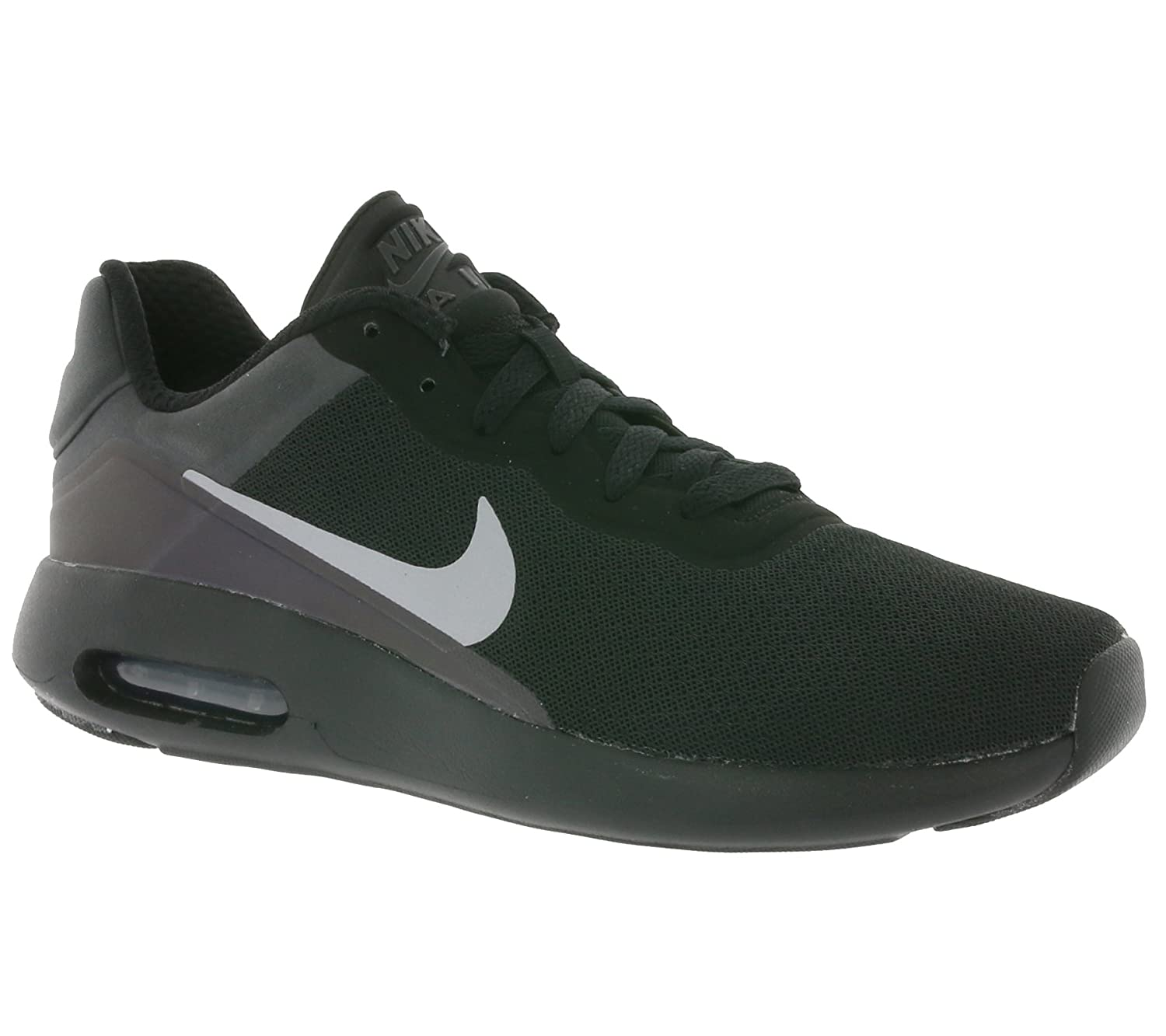 NIKE Mens Air Max Modern SE Round Toe Lace-up Running Shoes B01L39GBPE 8 D(M) US|Black/Pure Platinum-anthracite