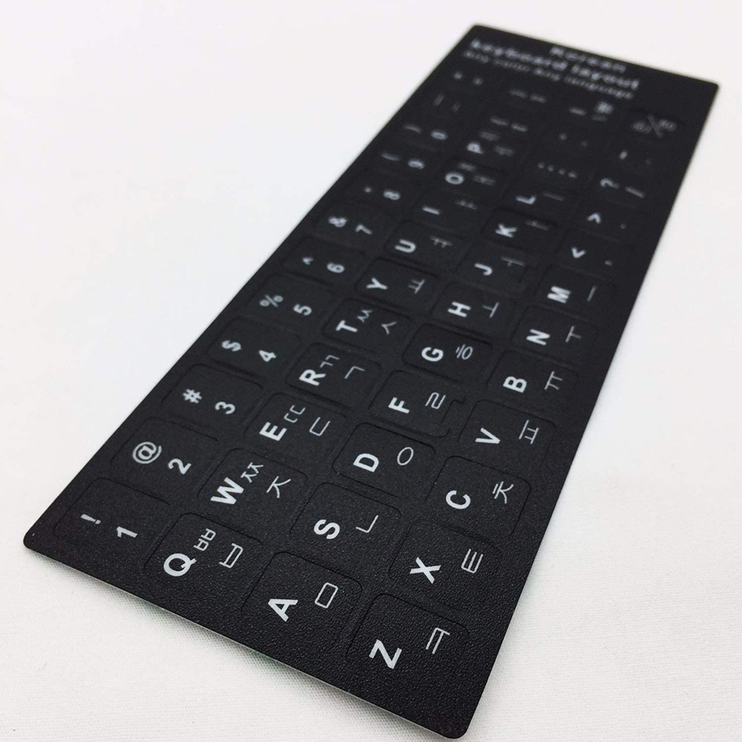 Russian Spanish English French Japanese Letters PC Laptop Computer Keyboard Cover Stickers Film-English