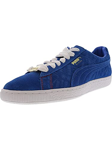 d27184fc20d PUMA Mens Suede Classic Paris Casual Athletic & Sneakers Blue