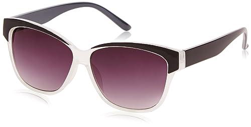 Sunoptic - Gafas de sol para mujer, color black (black/clear), talla talla única