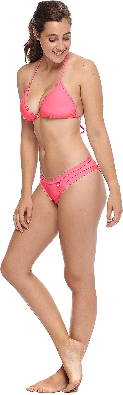 Body Glove Womens Smoothies DITA Solid Triangle Slider Bikini Top Swimsuit Bikini Top