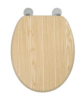 Croydex Flexi Fix Geneva Immer Passt Nie Gleitet Wc Sitz Holz