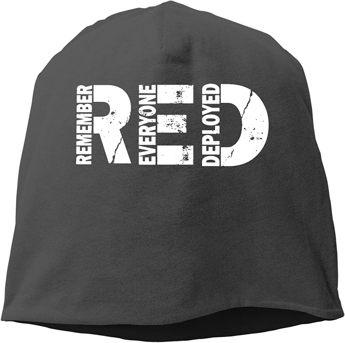 Red Friday Remember Everyone Deployed Unisex Knitted Hat Beanie Hat Warm Hats Skull Cap