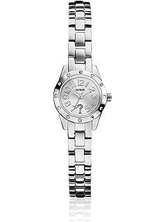 Guess damen armbanduhr fierce analog quarz edelstahl w0001l2
