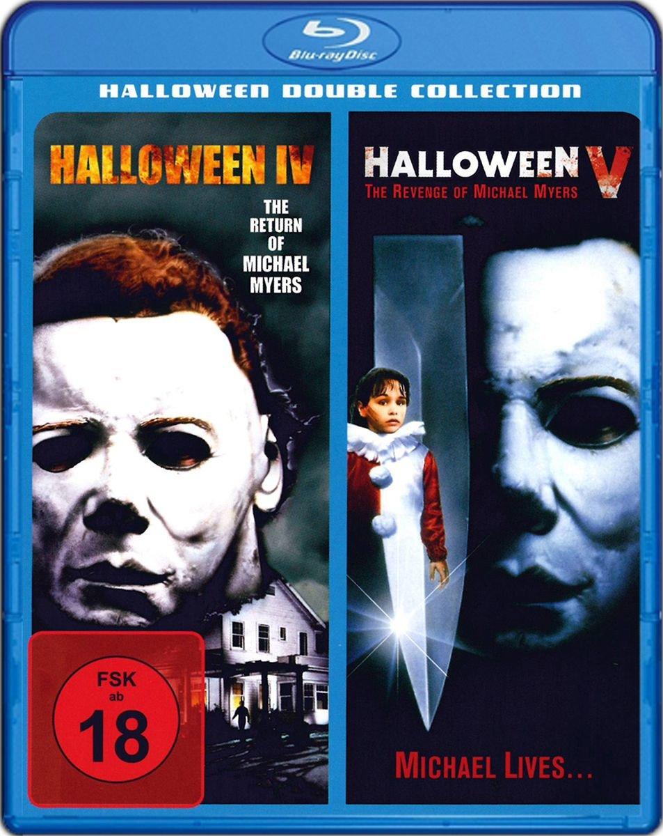 Halloween IV und V [Blu-ray] [Francia]: Amazon.es: D. Pleassence, E. Cornell, D. Harris u.a., D.H. Little, D. Othenin-Girard, D. Pleassence, E. Cornell: Cine y Series TV