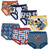 Disney Toddler Boys' Mickey 3pk Training Pants and 4pk Briefs