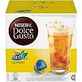 NESCAFÉ DOLCE GUSTO NESTEA AL LIMONE Tè aromatizzato al limone 3 confezioni da 16 capsule (48 capsule)