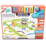 HEXBUG Flash Nano nanotopia - Colorful Sensory Playset for Kids - Build Your Own Playground - Over 130 Pieces and Batteries I