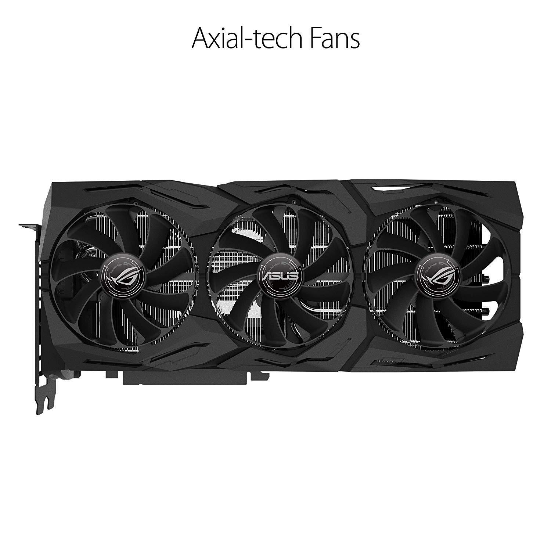 ASUS GeForce RTX 2080 O8G ROG STRIX OC Edition GDDR6 HDMI DP 1.4 Type-C graphics card (ROG-STRIX-RTX2080-O8G-GAMING) by ASUS (Image #5)