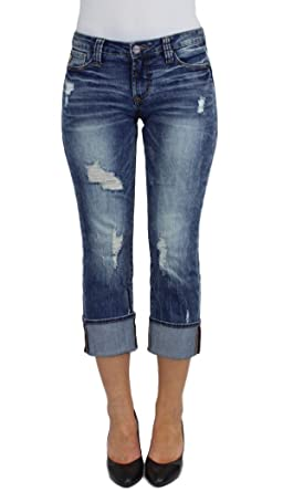 3b41692575c Dear John DJSL2005DYN Playback Cuffed Dynasty Denim (24) at Amazon ...