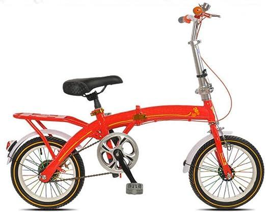 Coche De Estudiante De Niño Bicicleta Plegable Bicicleta De Adulto ...