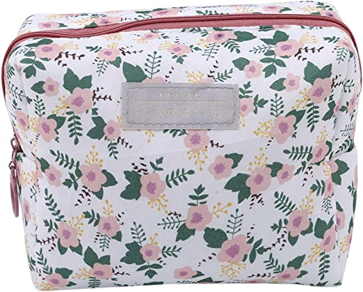 YSINFOD Floral Wash Bag Travel portátil Bolsa de Aseo suspendida ...
