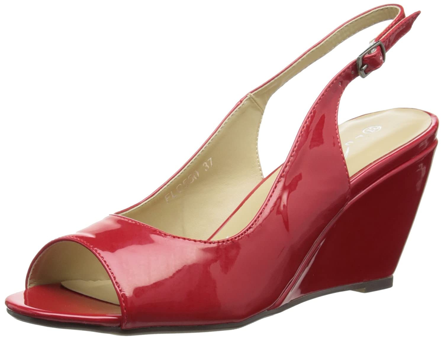 Lunar 19142 (Red) Flc550, Rouge Sandales femme Rouge (Red) a67df08 - latesttechnology.space