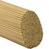 """Wooden Dowel Rods 1/8"""" x 12"""" - Bag of 100"""