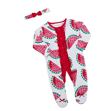 80fb53194 Newborn Baby Girls Novelty Sleepsuit (Up to 9 Months) Integral ...