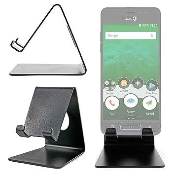 DURAGADGET Atril De Aluminio para Smartphone Doro 8035, Doro 8040 ...