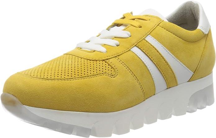 Tamaris Sneakers 23750-24 Damen Gelb Sun Suede