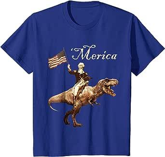 Amazon.com: George Washington Riding a Tyrannosaurus Rex ...