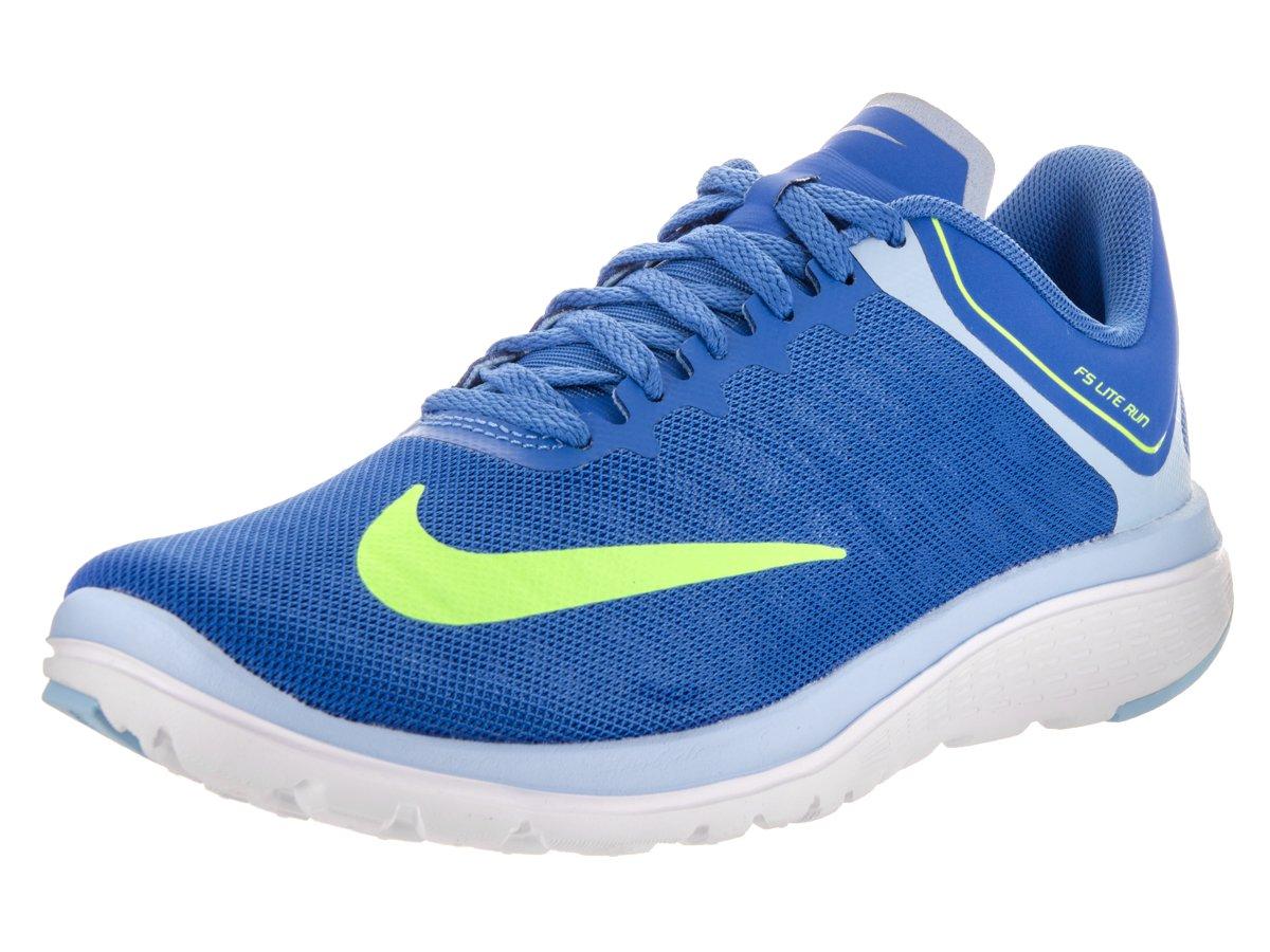NIKE Women's FS Lite Run 4 Fountain Blue/Ghost Green Running Shoe 10 Women US
