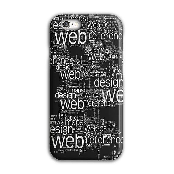 promo code d68ac ec322 Amazon.com: Wellcoda Developer Web OSX Website 3D iPhone 6 / 6S Case ...