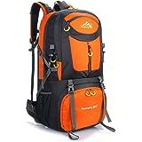 Phoenix Ikki 40L 50L 60L 全8色 3サイズ対応 充実なポケット 撥水素材 通気性良 旅行 遠足 登山 キャンプ リュックサック バックパック レインカバー付き