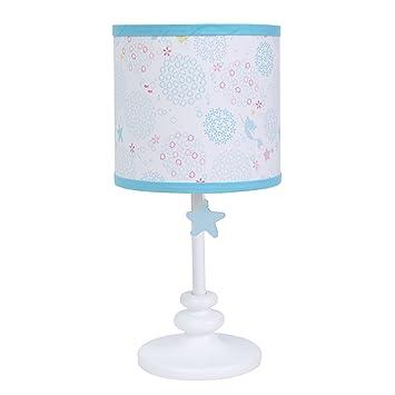 Amazon disney ariel sea princess lamp base with shade blue disney ariel sea princess lamp base with shade bluewhitegoldpink mozeypictures Images