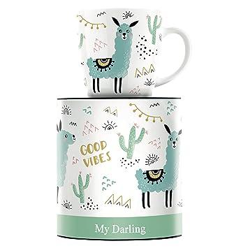 Izabella Markiewicz Lama und Michaela Koch Erdm/ännchen Ritzenhoff Kaffeebecher My Darling 2 er Set 1510189 1510191 Kollektion Herbst 2018