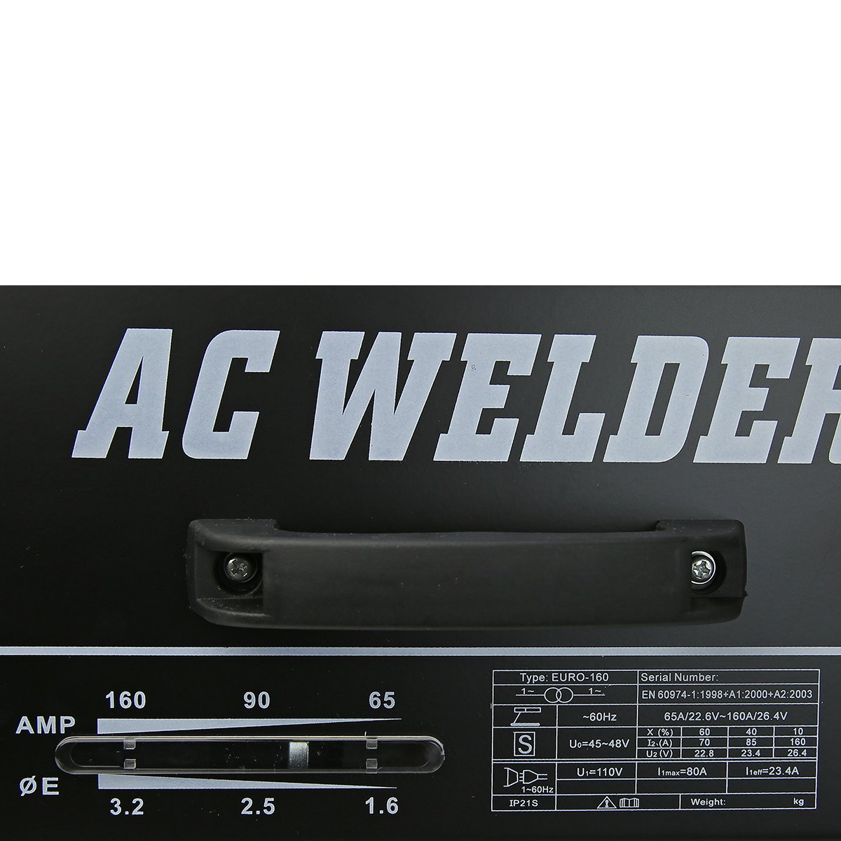 XtremepowerUS 160 AMP Arc Welder Welding Machine With Accessories by XtremepowerUS (Image #3)
