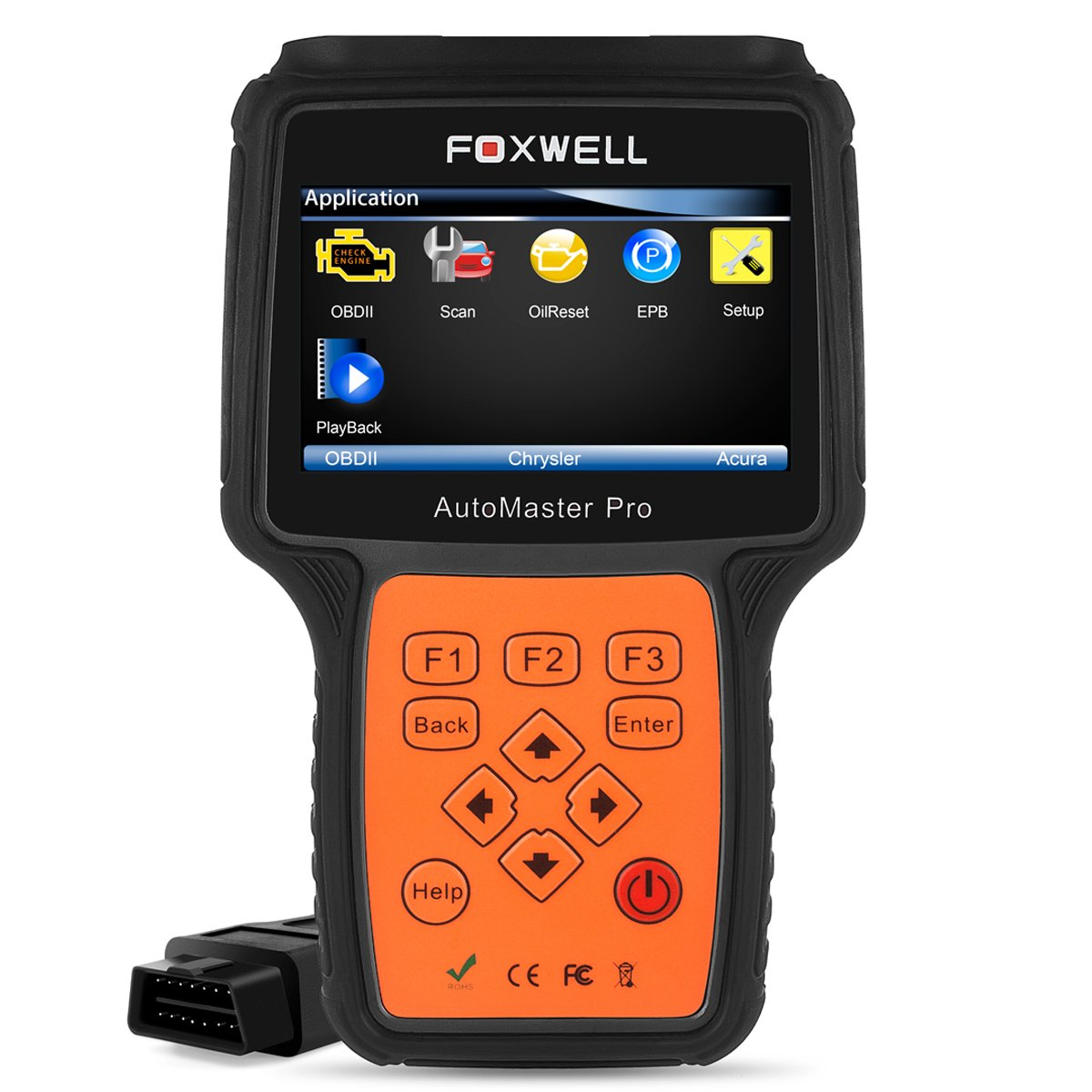 Full System OBD2 Scanner Foxwell NT624 Obdii Diagnose Engine/ ABS/ Airbag/ Transmisson/ EPB/ Oil Service Universal Diagnostic Tool Error Code Reader