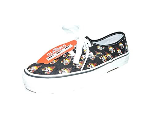d89a22ff3d Vans Unisex Multi skull on fire Skate Shoe boys Girls kids 4  Amazon.ca   Shoes   Handbags