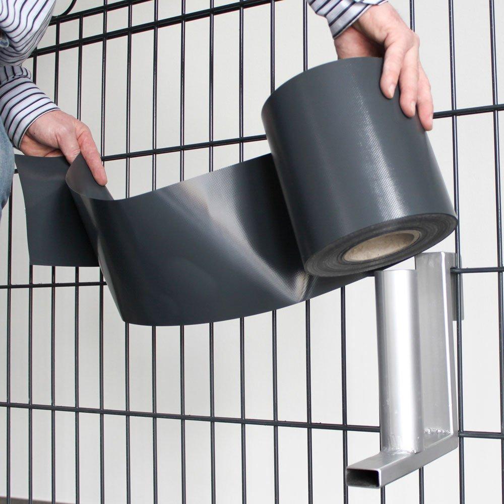 Amazon Sichtschutzstreifen PVC PES Kunststoff auf Rolle 35 m