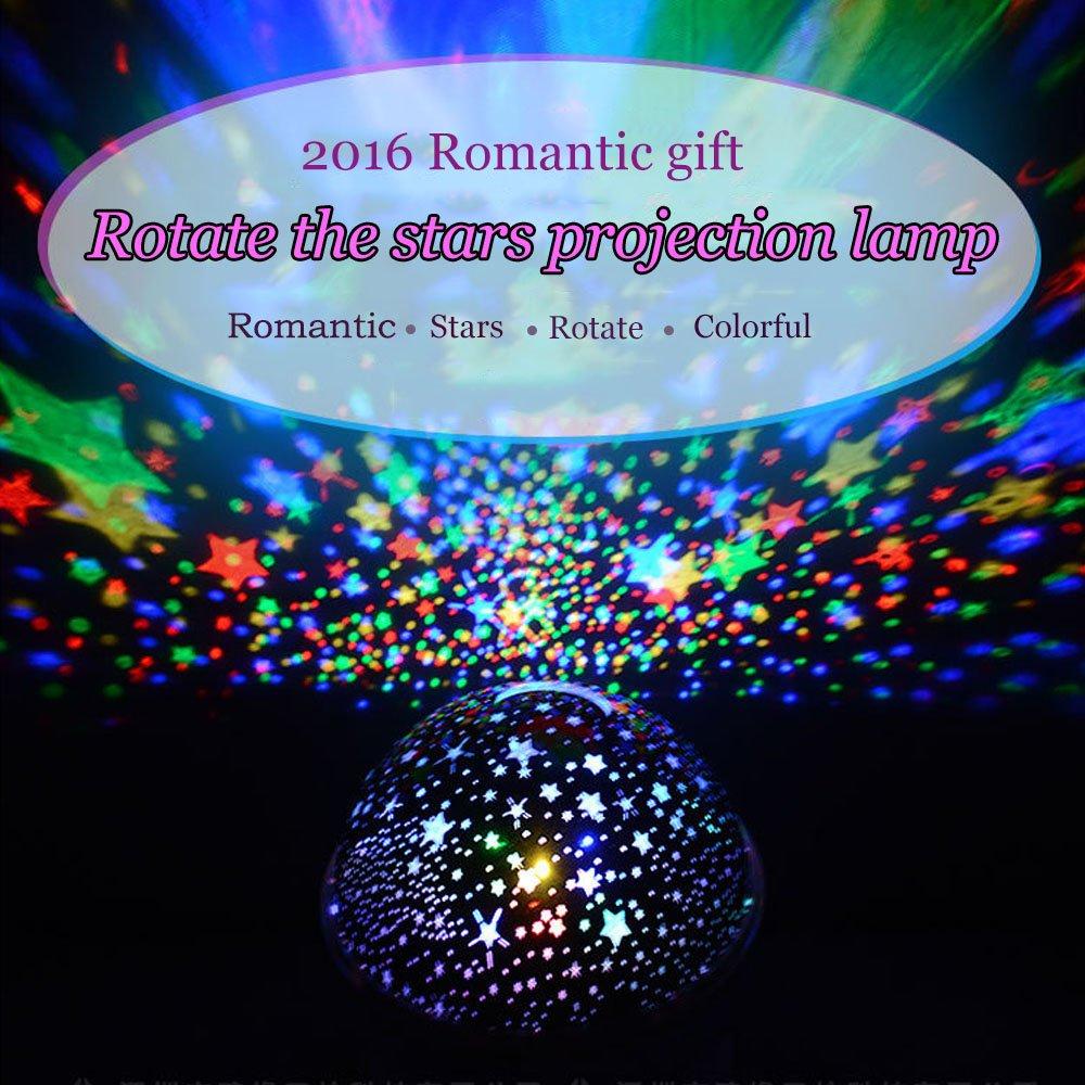 Four seasons star projector lamp - Amazon Com Ecandy Constellation Night Light Projector Lamp 360 Degree Rotating 3 Mode Romantic Cosmos Star Sky Moon Bedroom Light For Children Baby Bedroom
