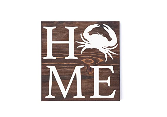 Review Susie85Electra Home Crab Sign
