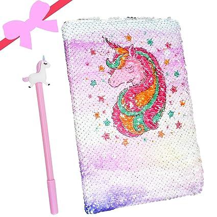Juego de bolígrafos de gel con diseño de unicornio y ...