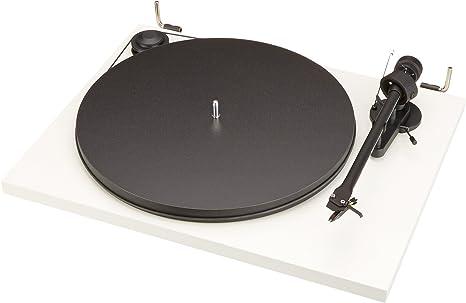 Pro-Ject Essential II - Tocadiscos USB, Blanco: Amazon.es: Electrónica