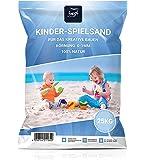 4myBaby GmbH Best For Garden 25kg Spielsand Quarzsand für Sandkasten Dekosand TÜV geprüft TOP Qualität (25 KG)