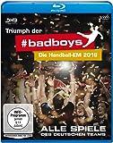 Triumph der badboys - Die Handball-EM 2016 - Alle Spiele des deutschen Teams [Blu-ray]