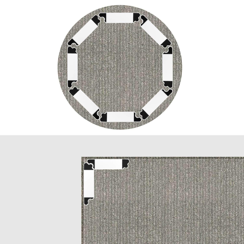 Rug Gripper 8 Pcs Carpet Gripper Premium Reusable Rug Gripper Tape Keep Carpet Neat No Residue Non Slip Rug Pad Area Rug Gripper Pad