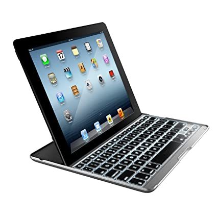 Zagg - Teclado para iPad 2/3/4, plateado