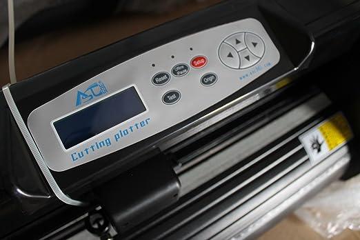 Plotter de Corte de Vinilo 34 pulgadas 500 G negro color con craftedge Software para camiseta transferencia de calor de medios de comunicación: Amazon.es: Juguetes y juegos
