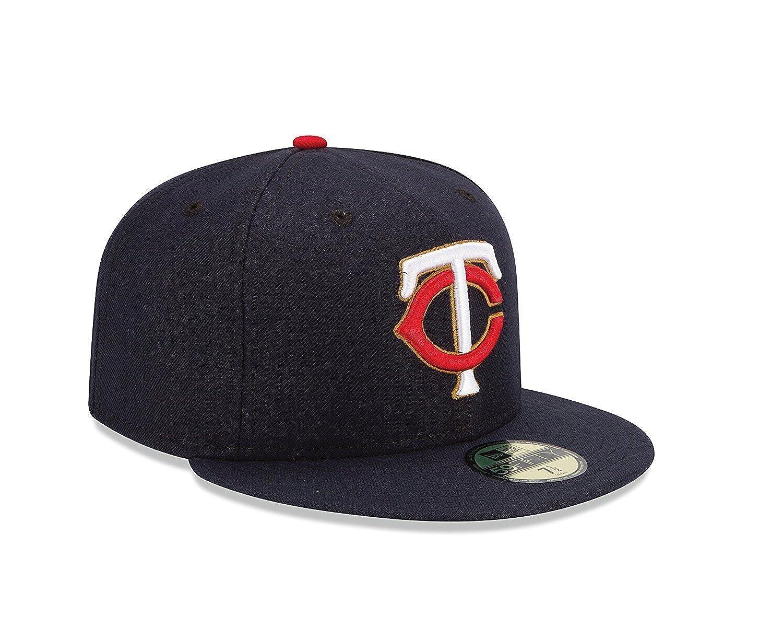 uk availability fcfc8 ced60 New Era 59Fifty MLB Minnesota Twins Cap at Amazon Women s Clothing store