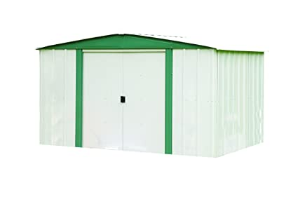 Amazon.com : Arrow Sheds HM86 Hamlet Steel Storage Shed, 8 By 6 Feet :  Garden U0026 Outdoor